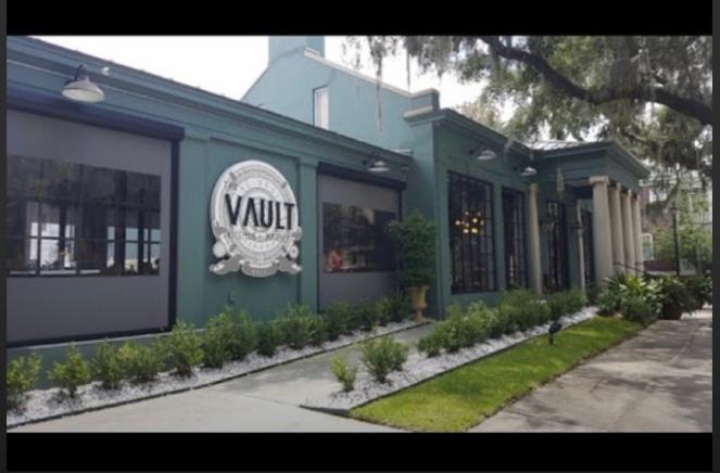 a vault
