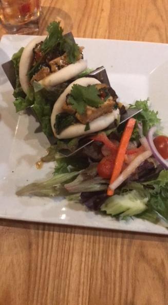 BBQ Tofu Steamed Buns